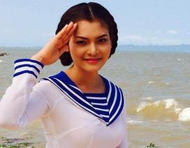 """Phương Thảo ra mắt MV """"Nhớ về cửa biển""""  động viên lính Đảo Trường Sa"""