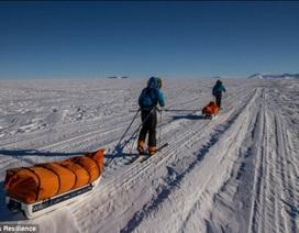 Chàng sinh viên lập kỷ lục trượt tuyết tốc độ nhất tới Nam Cực
