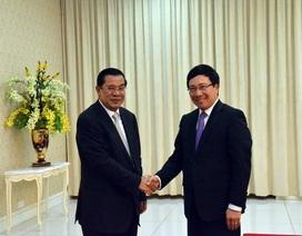 """""""Việt Nam-Campuchia nâng cao hiệu quả hợp tác toàn diện"""""""