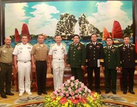 Quân đội Việt Nam-Philippines tăng hợp tác nhiều lĩnh vực