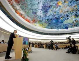 Việt Nam ủng hộ đối thoại nhân quyền tại Myanmar, Iran, Triều Tiên