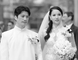 """Bebe Phạm tiết lộ những """"bí mật"""" đằng sau lễ cưới với Dustin Nguyễn"""