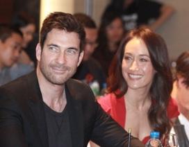 Hình ảnh người đẹp Hollywood Maggie Q và bạn trai tại Hà Nội