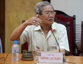 GS.TS - NSND Đình Quang, cây đại thụ của nền sân khấu, qua đời