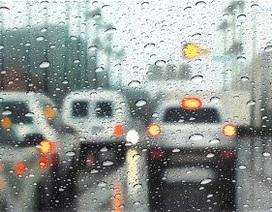 """Tranh màu siêu thực """"mưa trên kính"""" đẹp mắt"""