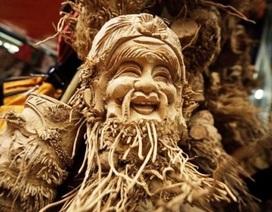Báo chí Rumani viết về điêu khắc tre Việt Nam