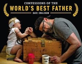 """Bộ ảnh hài hước gây """"sốt"""" của bố và con gái 3 tuổi"""