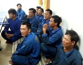 Cứu sống 9 thuyền viên tàu Bình Thuận bị bão đánh chìm
