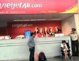 Xử phạt 2 nhân viên Vietjet Air từ chối phục vụ hành khách khuyết tật