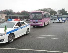 Tập huấn lái xe đưa đón đại biểu sự kiện đối ngoại IPU-132