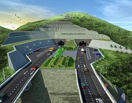 Xây dựng hầm đường bộ Đèo Cả theo thiết kế của Pháp