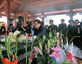 Chủ tịch nước thăm và chúc Tết tại Nghệ An
