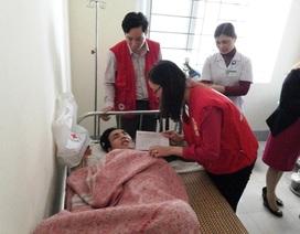 Hội chữ thập đỏ Nghệ An thăm hỏi, động viên gia đình nạn nhân bị sập giàn giáo Formosa