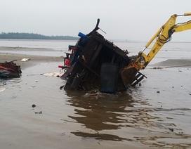 Một ngư dân 20 ngày bị sóng đánh chìm 5 con tàu