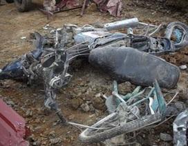 Vụ sạt lở bãi thải: Tìm thấy ba xe máy của nạn nhân bị vùi lấp