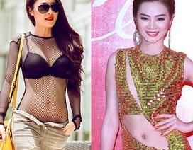"""Thời trang """"quá lố"""" của người đẹp Việt"""