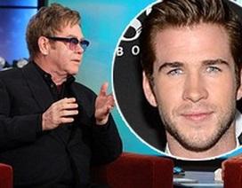 """Danh ca đồng tính Elton John muốn """"yêu"""" Liam"""