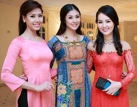 Hoa hậu Ngọc Hân tề tựu bên các Hoa hậu, Á hậu Việt Nam