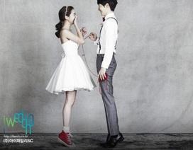 Ảnh cưới lãng mạn của cặp sao Hàn