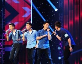"""Bốn chàng trai Việt """"đốn tim"""" khán giả bằng hit cũ """"I Swear"""""""