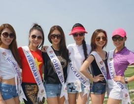 Người đẹp Việt Nam mặc áo màu cờ đỏ sao vàng tại Hoa hậu châu Á Thái Bình Dương