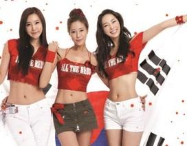 """Muôn kiểu """"sexy"""" của những búp bê cổ động viên xứ Hàn"""