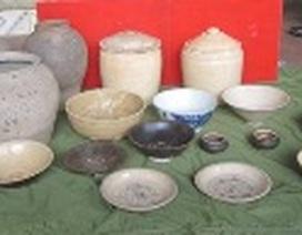 Phát hiện đồ gốm quý hiếm thời Trần - Lê