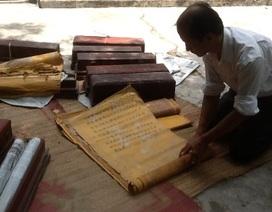 Phát hiện số lượng lớn đạo sắc phong cổ thời Lê - Nguyễn