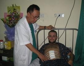 Hà Tĩnh: Bệnh nhân nước ngoài viết thư cám ơn bác sĩ