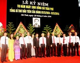Kỷ niệm 110 năm ngày sinh cố Tổng Bí thư Trần Phú