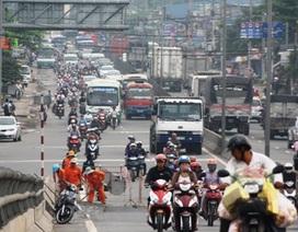 TPHCM chính thức thu phí đường bộ đối với xe máy từ 1/2015