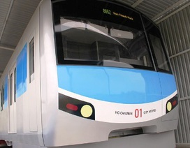 Năm 2016, TPHCM nhận bàn giao đoàn tàu điện ngầm hoàn chỉnh