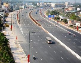 Thông xe thêm 4km đường nội đô đẹp nhất TPHCM