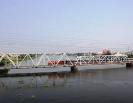 Nâng cấp cầu đường sắt Bình Lợi hơn 100 tuổi