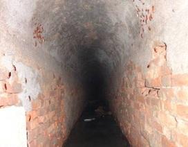Sắp thay thế cống vòm 150 năm tuổi dưới lòng đất Sài Gòn
