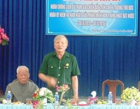 Câu chuyện của người chiến sĩ đặc công bám trụ nơi cửa ngõ Sài Gòn