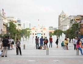 Người Sài Gòn hào hứng trải nghiệm phố đi bộ đầu tiên