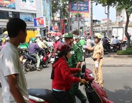 TPHCM thay đổi lịch cấm đường để tránh ùn tắc