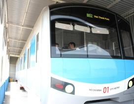 Trình Thủ tướng đề án thành lập Công ty Đường sắt đô thị số 1 TPHCM