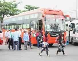Bến xe miền Đông thông thoáng trong ngày người dân trở lại thành phố