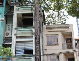 Tháo dỡ nhà xây sai phép để cứu cây xanh