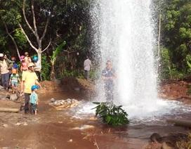 Giếng phun nước cao 20m: Không nên uống nước trực tiếp từ giếng
