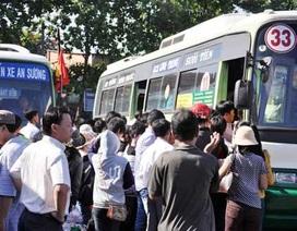 Mỗi xe buýt gắn 3 camera để chống sàm sỡ, móc túi