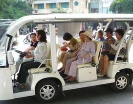 TPHCM dừng đề án xe điện chở du khách tham quan thành phố