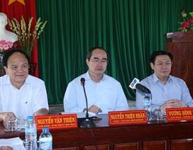 UBTƯ MTTQ Việt Nam và Ban Kinh tế TƯ khảo sát mô hình hợp tác xã tại Bình Định