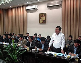 Bộ trưởng Thăng cảnh cáo tổng thầu đường sắt Cát Linh - Hà Đông