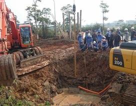 Đường ống nước sạch Sông Đà vỡ lần thứ 10