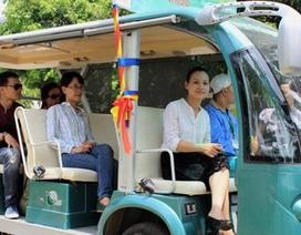 Hà Nội: Sẽ khai thác dịch vụ tham quan cầu Nhật Tân bằng xe điện?