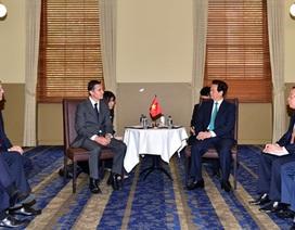 Thủ tướng Nguyễn Tấn Dũng đối thoại với các doanh nghiệp hàng đầu Australia