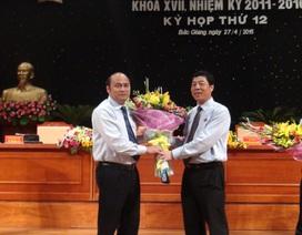 Bắc Giang bầu Chủ tịch UBND tỉnh mới